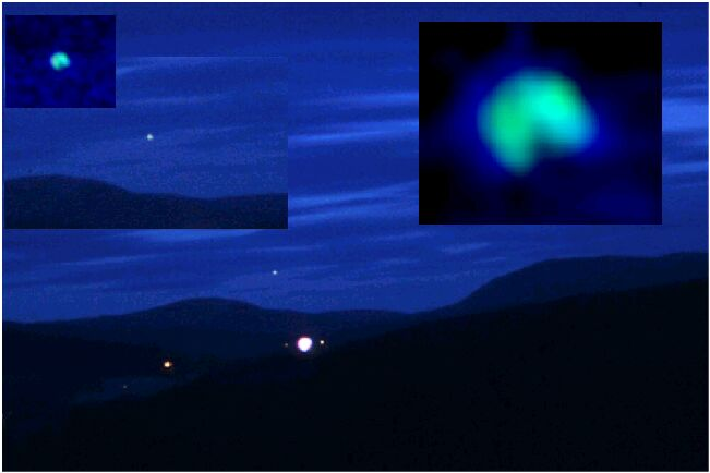 UAP phenomena in Hessdalen, Norway.